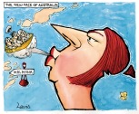 Julia Gillard blows off Boat People